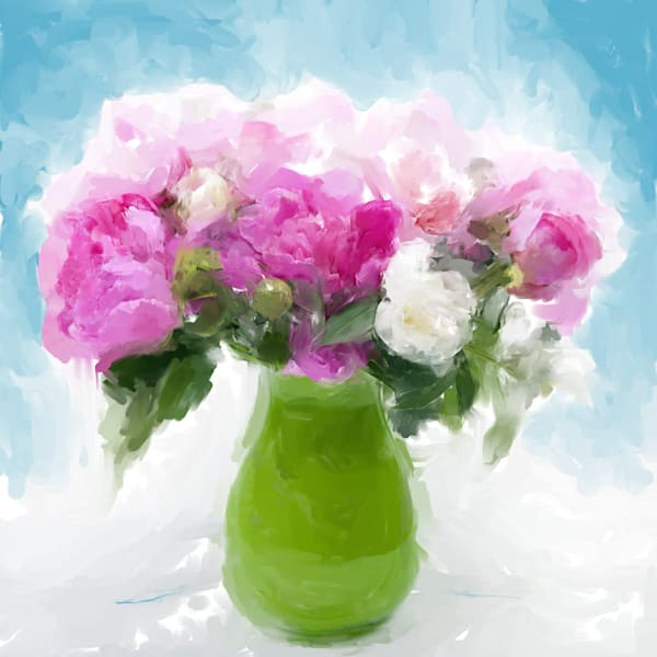 Pink Peonies - Limited Edition Prints