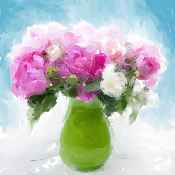 Pink Peonies - Original Painting