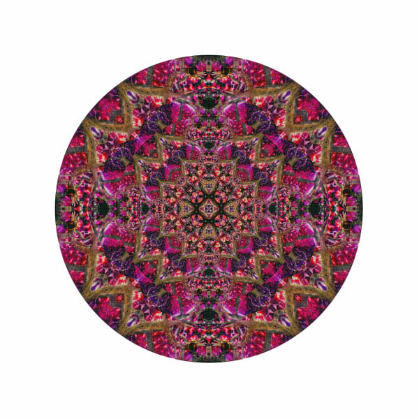 Purple Lotus M1 - Modern Mandala | A Psychedelic Art Project by Cameron Emmanuel