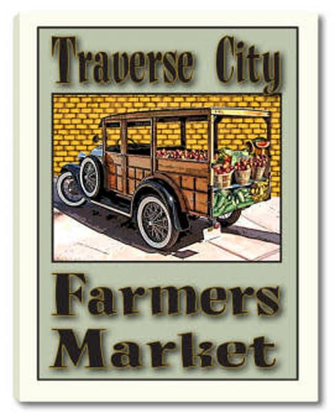 Customizable Farmers Market Canvas Print Or Poster (Available In 3 Sizes) Art | Photo 2 Canvas Direct
