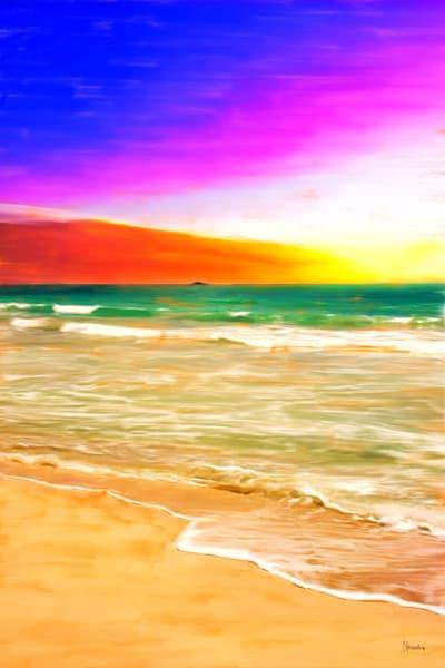Kailua Beach Sunrise – Original Painting