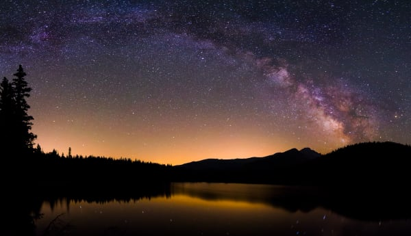 Bear Lake Milky Way Pano Art | Jesse McLaughlin Photography