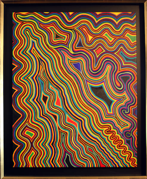 Wandering Perimeters Painting|Original Framed Oil on Canvas Painting by Artist Todd Breitling