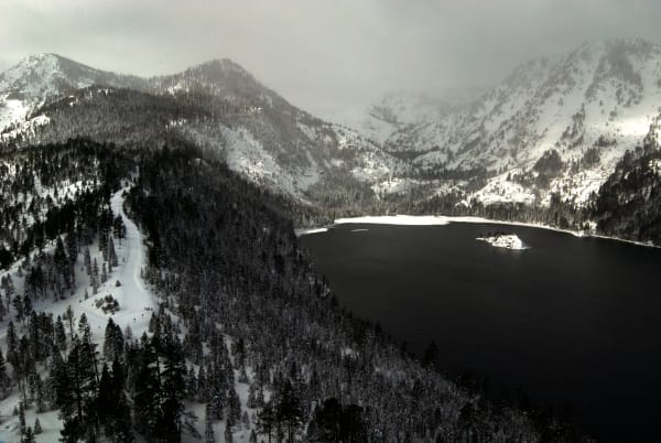 Stormy Emerald Bay