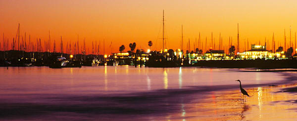 Santa Barbara Harbor by Josh Kimball Photography