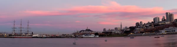 Sunset From Aquatic Park by Josh Kimball Photography