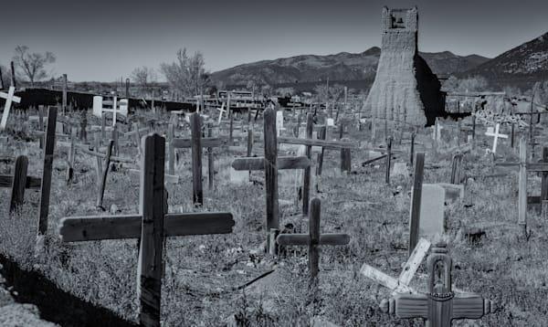 Cemetary   Taos Pueblo New Mexico Photography Art | Namaste Photography