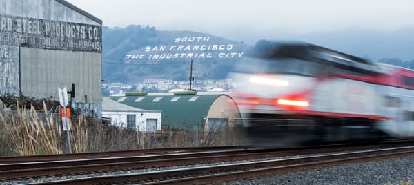South City Train Blur by Josh Kimball Photography