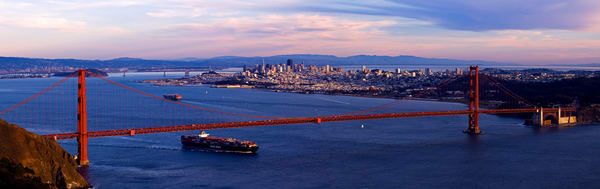 SF Sunset by Josh Kimball Photography