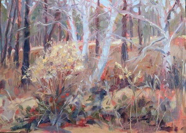 January Morning Walk Art | Laura McRae Hitchcock