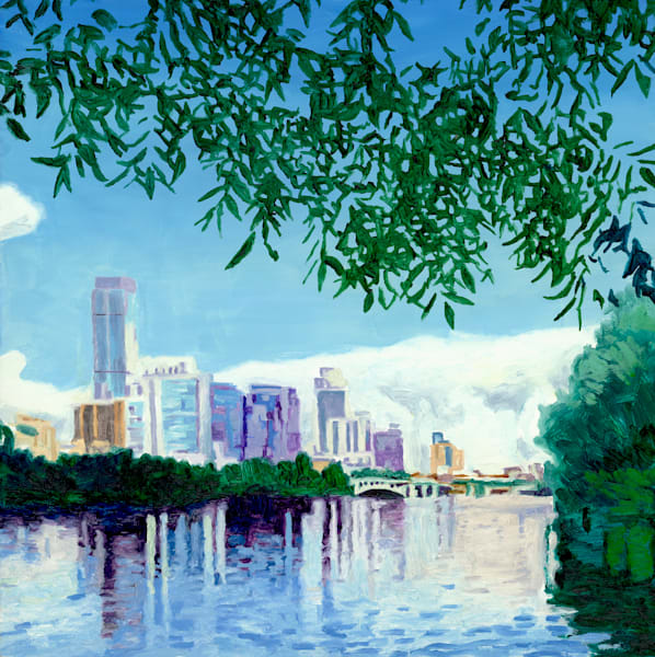 Skyline Pecan, Austin Art, The Art of Max Voss-Nester