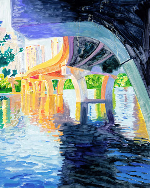 Reflections of a Bridge, Austin Art, The Art of Max Voss-Nester