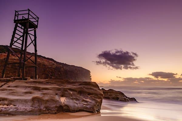 Redhead Shark Tower Purples - Redhead Beach Newcastle Lake Macquarie NSW Australia
