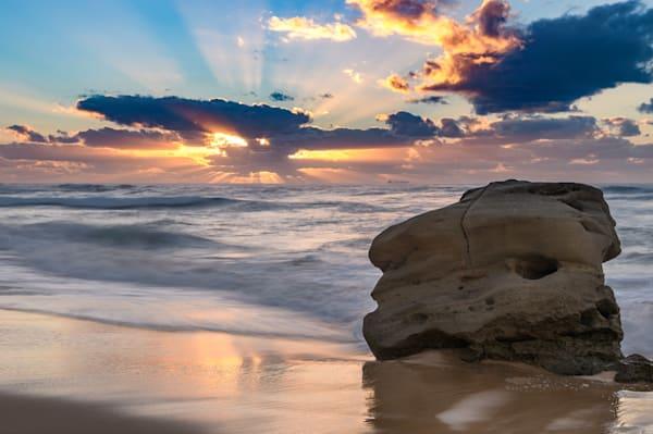 Redhead's Boulder - Redhead Beach Newcastle Lake Macquarie NSW Australia