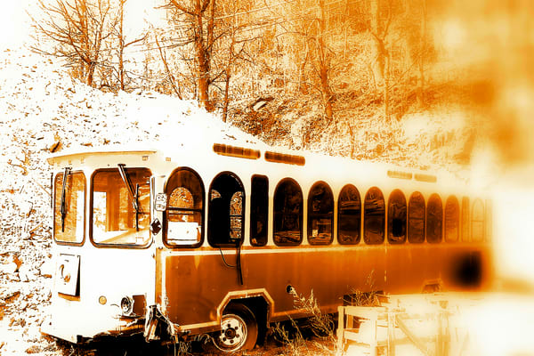 Magic Bus sepia
