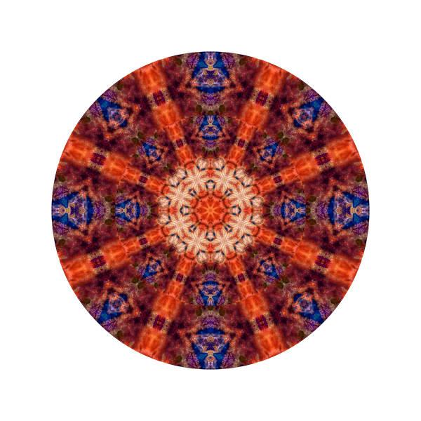 Sun Spot M3 - Modern Mandala | A Psychedelic Art Project by Cameron Emmanuel
