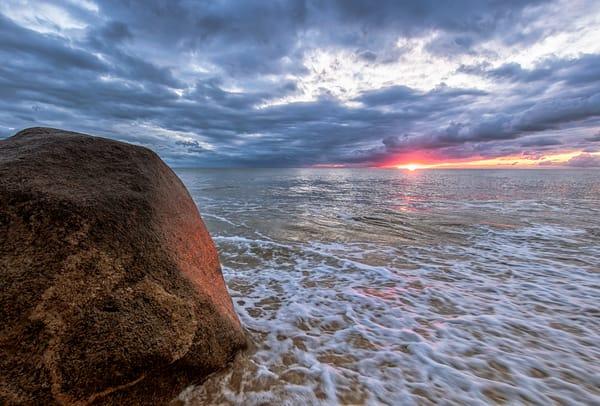 Moshup Beach Rock Reflection Art | Michael Blanchard Inspirational Photography - Crossroads Gallery