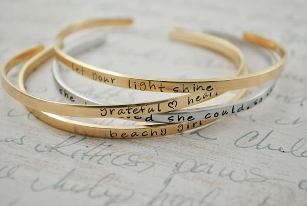 Mantra Bands | Mantra Bracelets | Mantra Jewelry by Kelly Berkey