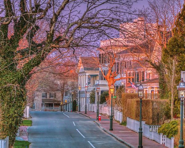 North Water Street Magenta Sun Art | Michael Blanchard Inspirational Photography - Crossroads Gallery