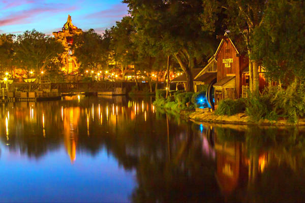 Splash Mountain Harpers Mill - Disney Pics | William Drew Photography