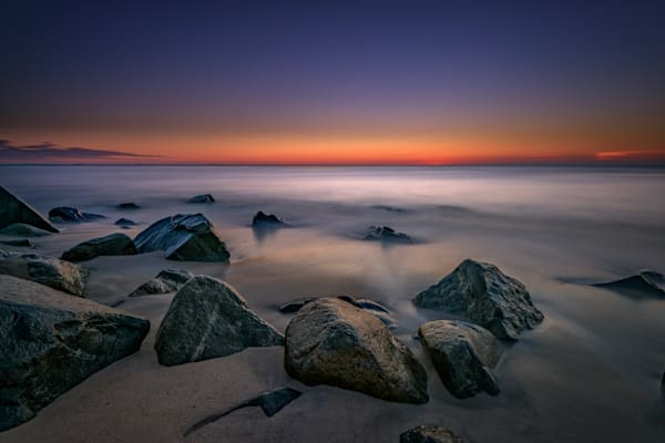 Jersey Shore Tranquility by Rick Berk