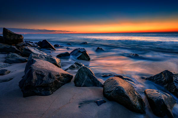 Sunrise at Sandy Hook by Rick Berk