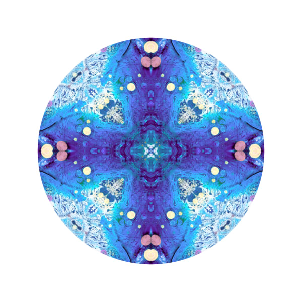 Perma Frost M1 - Modern Mandala | A Psychedelic Art Project by Cameron Emmanuel