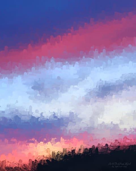 """Your Praise O God..."" - digital painting photograph"