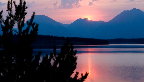 GRAND TETON SUNSET, WYOMING