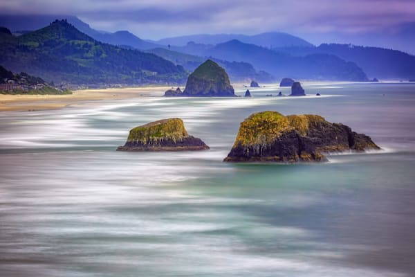 Cannon Beach from Ecola Viewpoint by Rick Berk
