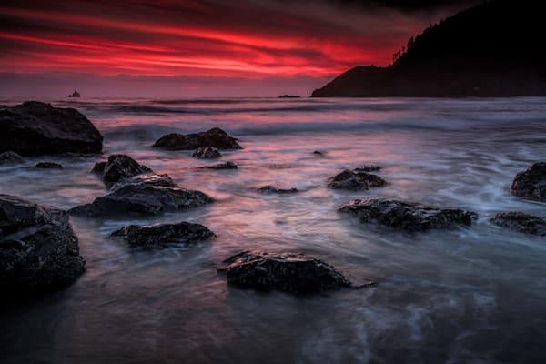 Oregon Afterglow by Rick Berk