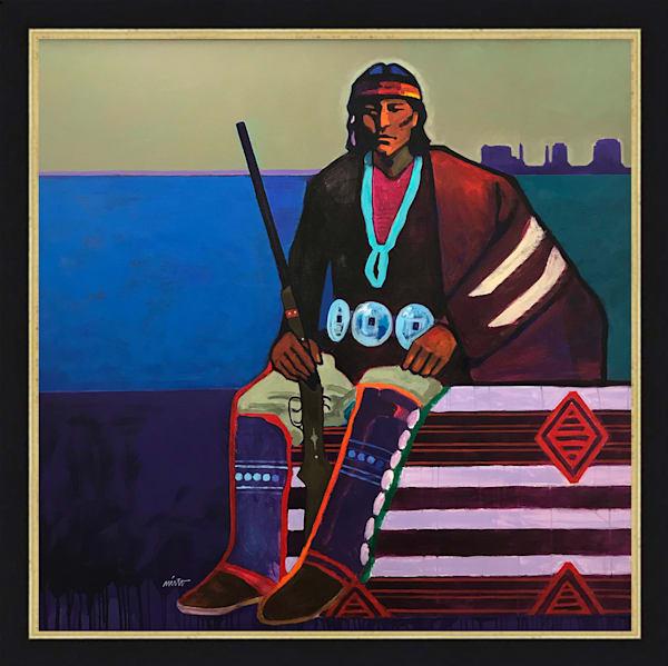 Navajo | John Nieto Original Painting