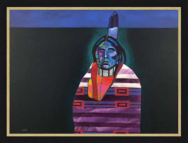 Chief Blanket | John Nieto Original Painting
