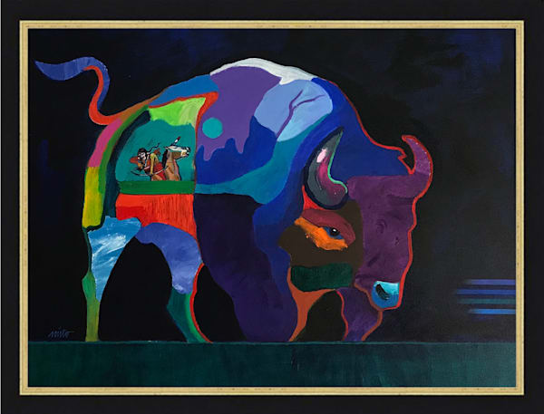 The Hunted and the Hunter | John Nieto Original Painting