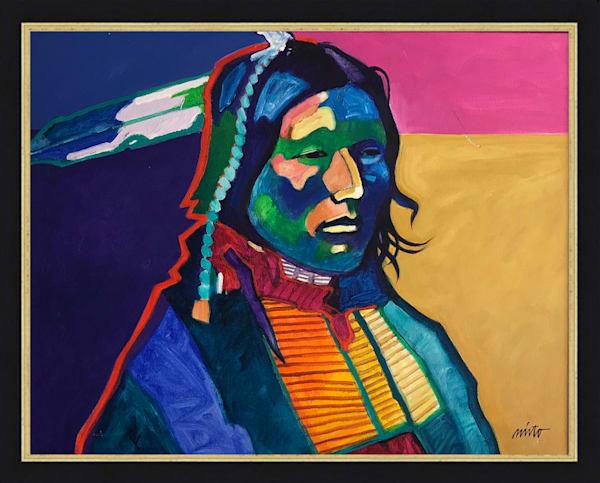 Scarlet Crow | John Nieto Original Painting