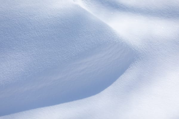 Sun, Wind, and Shadows play on Snow - shop prints | Closer Views