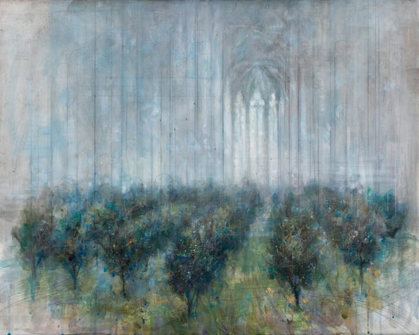 Memory of an Orchard (After Rain)