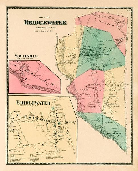 Bridgewater Map