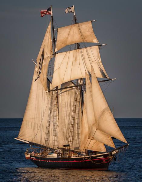 Shenandoah Under Sail Art   Michael Blanchard Inspirational Photography - Crossroads Gallery