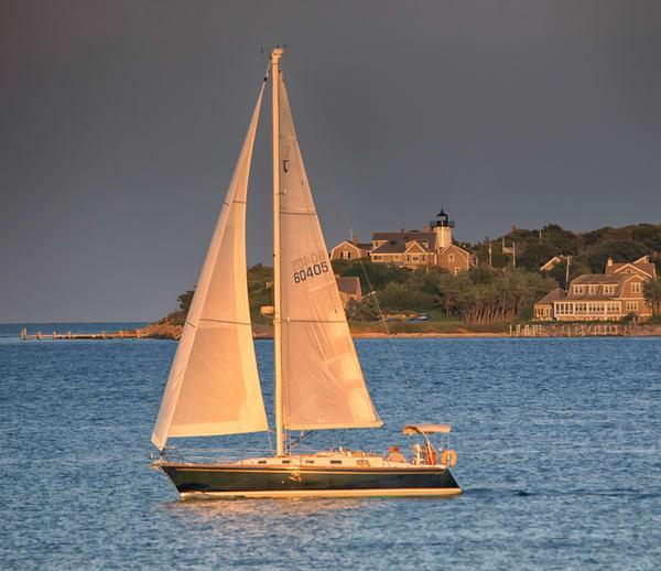 East Chop Sunset Sail