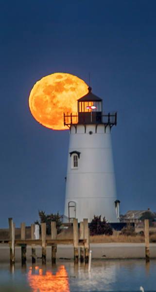Edgartown Light Super Moon