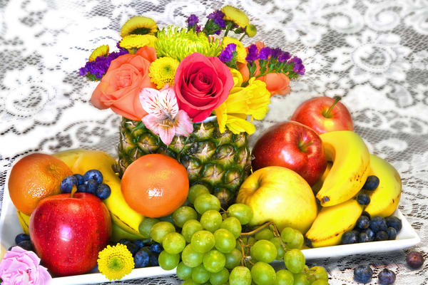 Fruit and Flowers | Art By Smiths - Still Life Photography