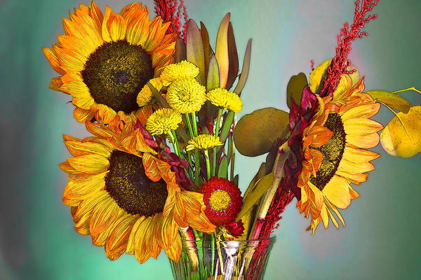 Maggie's Sunflowers |  Wonderful World of Flowers Photography  - Art By Smiths