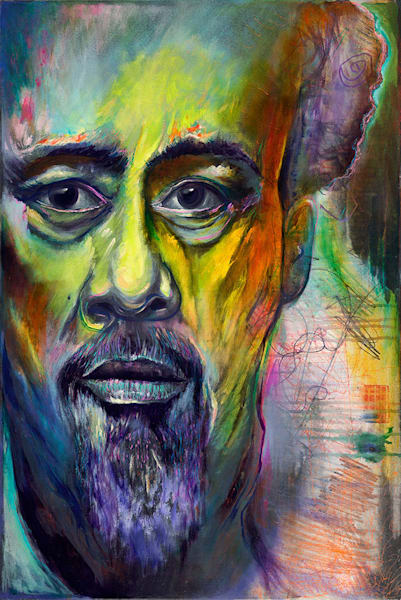 """Mingus"" fine art print by Peter Koury."