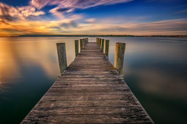 Sunrise on the Peconic River by Rick Berk