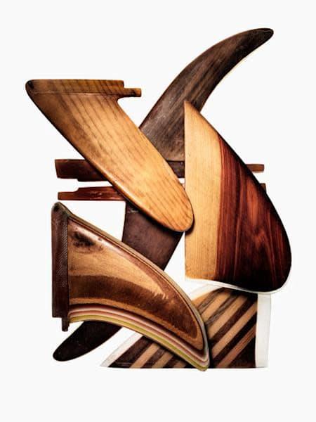 Handmade Wood Fins