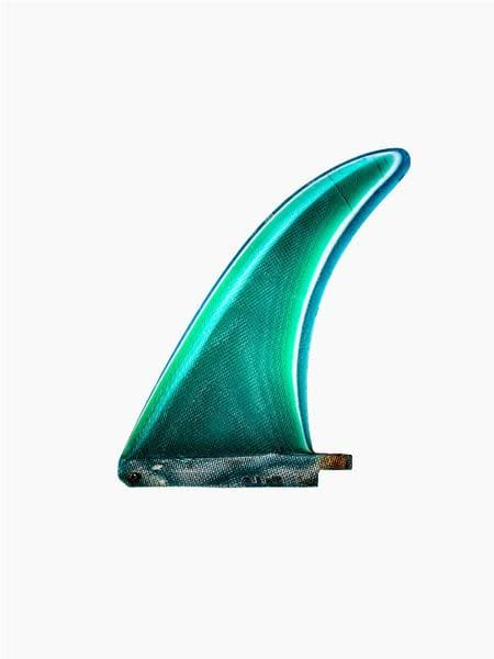 Teal Brewer Dolphin Template Fin, C. 1970