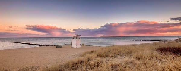 Inkwell Sunset Panorama Art | Michael Blanchard Inspirational Photography - Crossroads Gallery