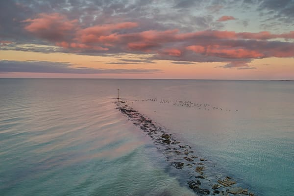 Inkwell Getty Pink Clouds Art | Michael Blanchard Inspirational Photography - Crossroads Gallery