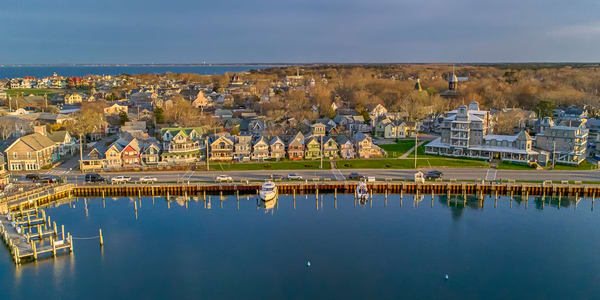 Oak Bluffs Summer Morning Waterfront Art | Michael Blanchard Inspirational Photography - Crossroads Gallery